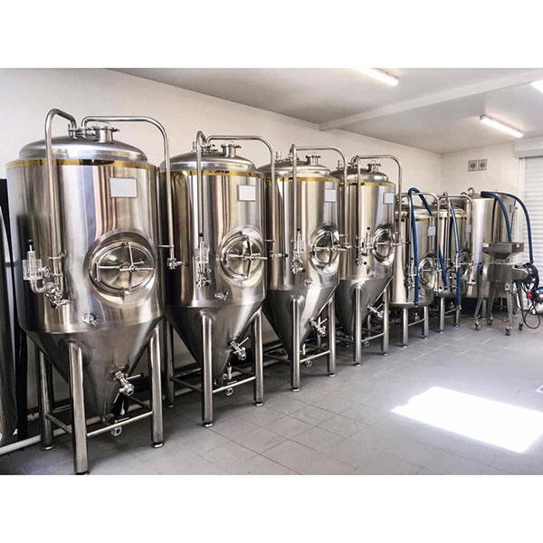 Hot sale Home Brew - 500L conical fermentation tank – Obeer