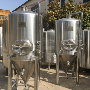 Professional Design 50l Fermenter -  1000L single wall beer fermenter – Obeer