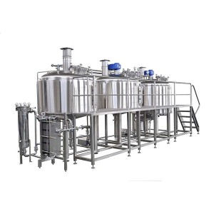 China New Product 150 Gallon Conical Stainless Fermenter - 2500L Brewery system – Obeer