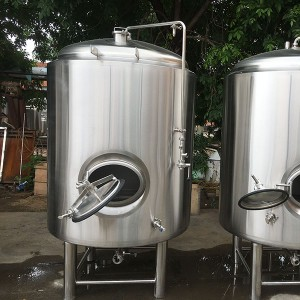 factory low price Machine Making Beer - Single wall Bright beer tank – Obeer