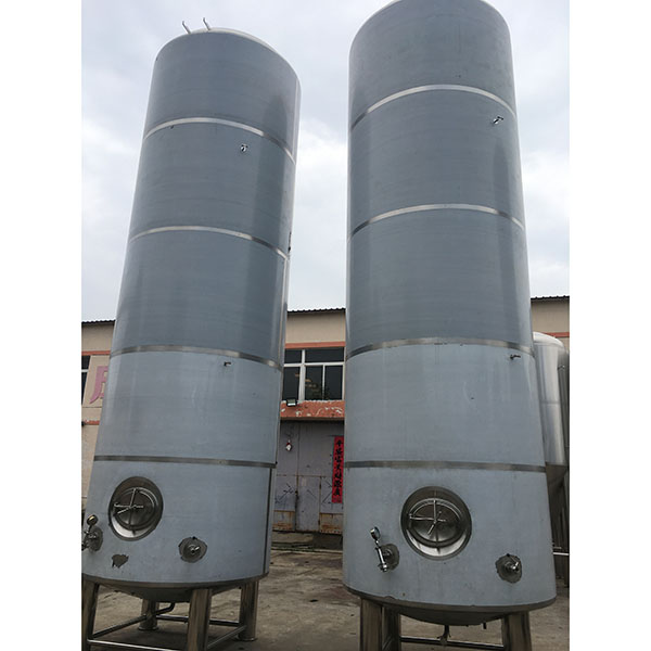 Factory best selling Home Beer Brewing - 20000L Vertical Bright Beer Tank – Obeer detail pictures