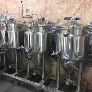 OEM Customized Home Brew Supply - 100L (1bbl)brew system for beer Pub&Bar&Restaurant – Obeer