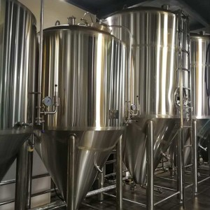 Fixed Competitive Price Home Brew 300 Gallon Conical Fermenter - 10000L conical fermenter – Obeer