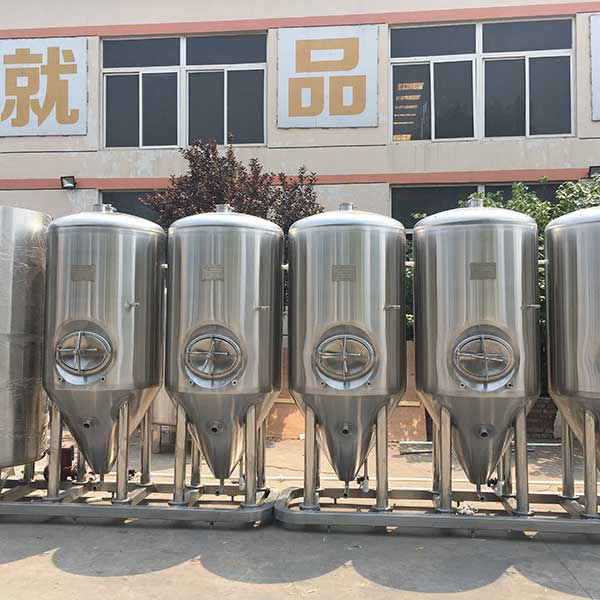 Manufacturer of Copper Brewery Equipment - 500L Double Head Fermenter – Obeer