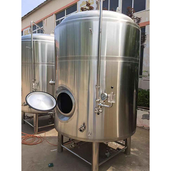 Factory directly Beer Tank - 5000L Vertical Bright Beer Tank – Obeer