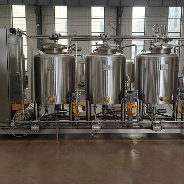 Factory making Stainless Steel Pressure Vessel – Brewing CIP Systems – Obeer