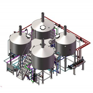 Professional China Commercial Beer Brewery Equipment - Commercial Beer Brewing Equipment – Obeer