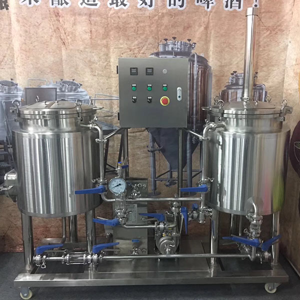 factory Outlets for Beer Canning Machine - 100L (1bbl)brew system for beer Pub&Bar&Restaurant – Obeer detail pictures