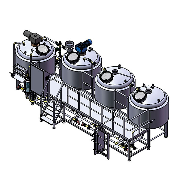 Hot New Products Brewing Machine - 2500L Brewery system – Obeer