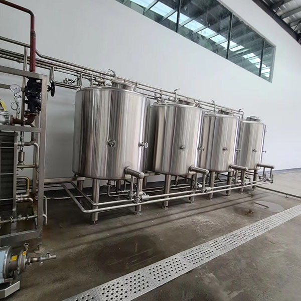 Factory making Stainless Steel Pressure Vessel – Brewing CIP Systems – Obeer Featured Image