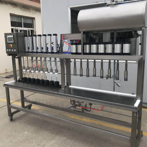 OEM Factory for Nano Brewery - Bottle filling machine – Obeer