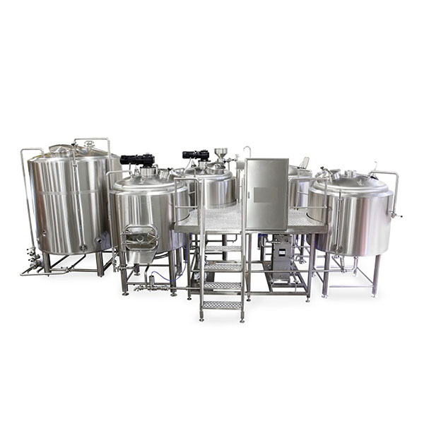 Wholesale Dealers of Beer Mash Tun 30l - 5000L four vessel brewhouse: mash, lauter tank, kettle, Whirlpool – Obeer