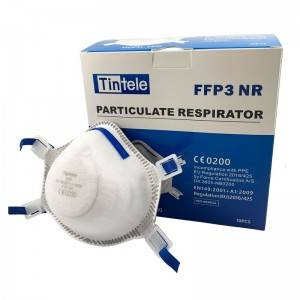 2020 wholesale price 3q N95 Face Mask - EN149 FFP3 NR face Particulate Respirator 9300 without valve – AKF Medical