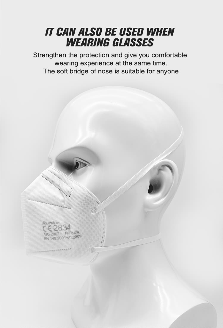 2020 4-layer High-quality  FFP2  Anti- air  Pollution Mask Filter Anti-dust Face Medical Mask (2)