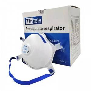 EN149 FFP3 face mask with breathing valve Profe...