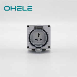 Female Pipe Nipple Twin Socket Outlet - 1 Gang Multi-function Socket – Ohom