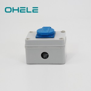 Factory For British Electrical Plug - 1 Gang Swiss Socket – Ohom
