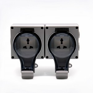 Hex Pipe Nipple Plug Sockets And Light Switches - 2 Gang Multi-function Socket – Ohom