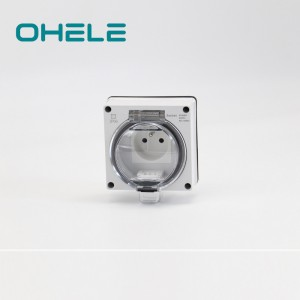 OEM/ODM Manufacturer Usb Electrical Outlet - 1 Gang French Socket – Ohom
