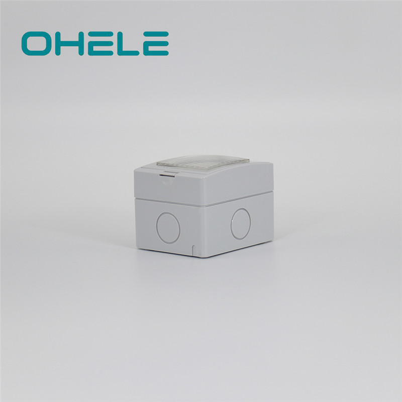 Nipple Pipe Connector Cooker Plug Socket - 1 Gang German(EU) Socket – Ohom