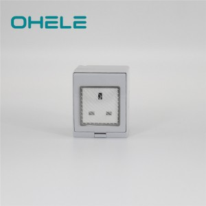 1 Inch Hose Nipple Screwless Light Switch - 1 Gang UK Socket – Ohom