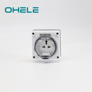 Threaded Pipe Recessed Wall Outlet - 1 Gang Multi-function Socket – Ohom