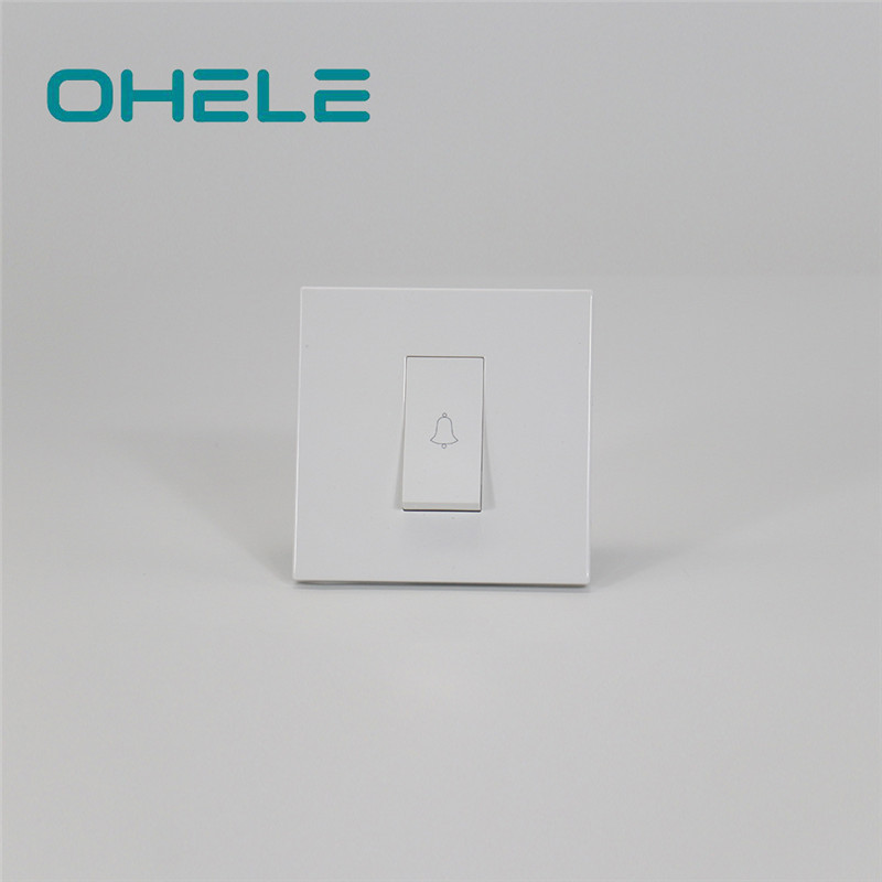2020 Latest Design Power Socket Wall - 1 Gang Bell Push Switch – Ohom