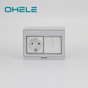 Factory source Electrical Socket Wiring - 2 Gang Switch + 1 Gang German(EU) Socket – Ohom