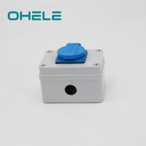 Factory made hot-sale Electric Plug Sockets - 1 Gang French Socket – Ohom