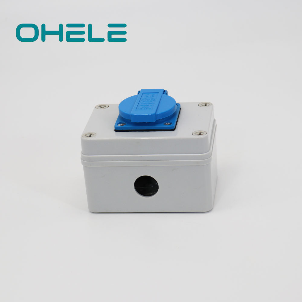 China Europe Style For Outdoor Power Socket