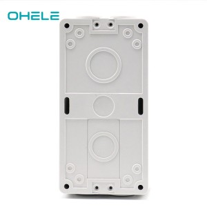 Good Quality Ip55 Socket Waterproof - Four way waterproof box without Lamp – Ohom