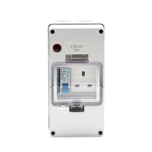 OEM/ODM China Outdoor Rcd Double Socket - 1 Gang RCD + 1 Gang UK Socket – Ohom