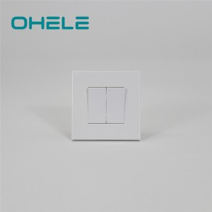 China wholesale Wall Electrical Socket - 2 Gang switch – Ohom