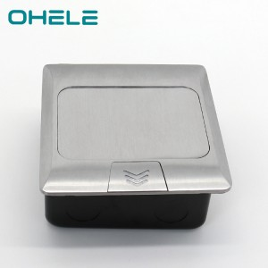 Well-designed Laying Tile On Uneven Concrete - 2 Gang UK Socket Aluminum alloy – Ohom