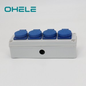 Manufacturer for Washer Dryer Electrical Outlet - 4 Gang Multi-function Socket – Ohom