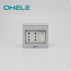 Online Exporter Waterproof Micro Switch - 1 Gang Switch + 2 Gang Italian Socket – Ohom