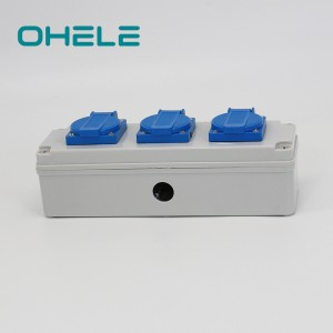 China Factory for Recessed Power Outlet - 3 Gang UK Socket – Ohom