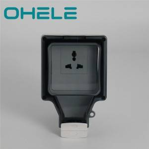 86 type 16A 1 Gang Multi-function Socket 1