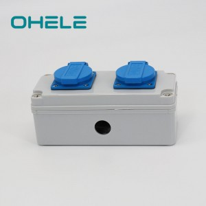 Top Suppliers Waterproof Push Button Switch 120v - 2 Gang French Socket – Ohom