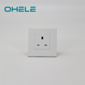 Cheapest Factory Wall Socket Timer Switch - 1 Gang UK Socket – Ohom