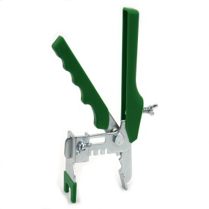 Wall Floor tile leveling system clips wedges and Traction-adjustable Tile Leveling System Pliers