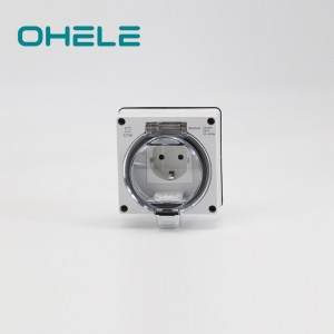 Close Pipe Nipple Modern Switches And Sockets - 1 Gang German(EU) Socket – Ohom