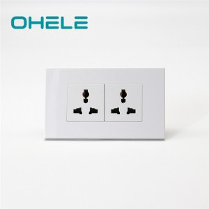 8 Year Exporter Installing Wall Socket - 2 Gang Multi-function Socket – Ohom