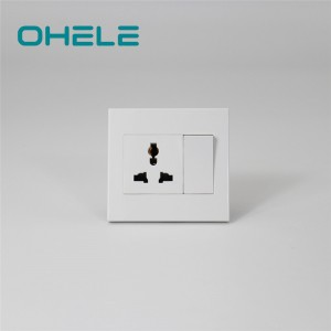 High reputation Fast Charging Wall Outlet - 1 Gang Multi-function Socket+1 Gang Switch – Ohom