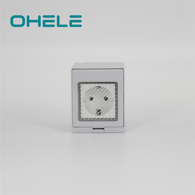 Nipple Pipe Connector Cooker Plug Socket - 1 Gang German(EU) Socket – Ohom Featured Image