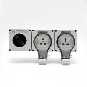 1 Gang Switch +2 Gang Multi-function Socket
