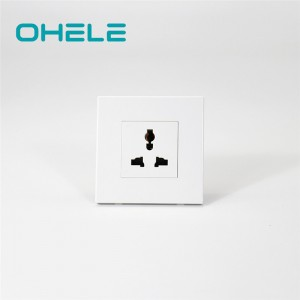 Hot sale Different Wall Sockets - 1 Gang Multi-function Socket – Ohom