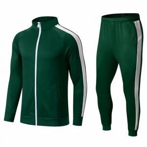 Custom Track Suits Sweatsuit For Men winter Polyester Training Sportswear Tracksuit