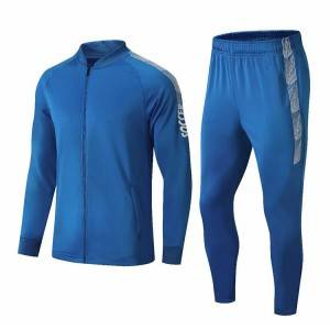 Men workout tracksuits custom sportswear track suits training tracksuit