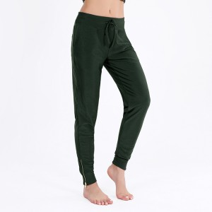 Online Exporter Ski Wear - Custom active wear women fitness cargo jogger pants tracksuit bottoms  – Omi